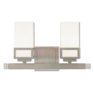 Ebern Designs Nailwell Bath 2-Light Vanity Light
