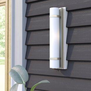 Deveral 1-Light Outdoor Wall Sconce by Orren Ellis