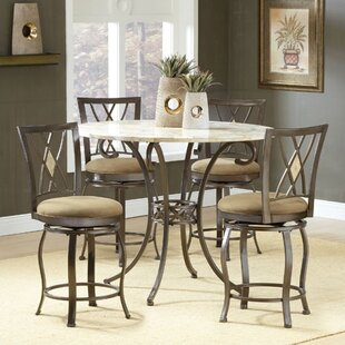 Boundary Bay 5 Piece Pub Table Set by Red Barrel Studio Modern