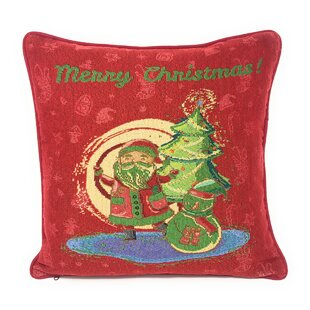 Schaffer Red Santa Clause Throw Pillow
