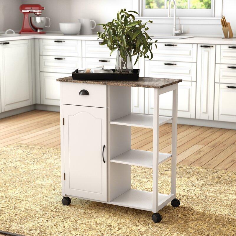 Andover Mills Queens Kitchen Cart With