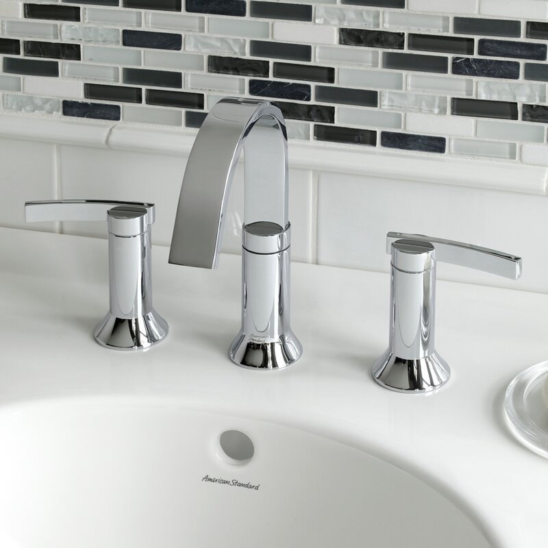 American Standard Berwick High Arc Widespread Bathroom Faucet with ...