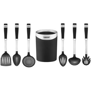 Kitchen utensil sets youll love wayfair 7 piece kitchen utensil set teraionfo