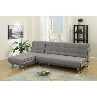 Pinecrest Adjustable Tufted Back Sectional by Ebern Designs