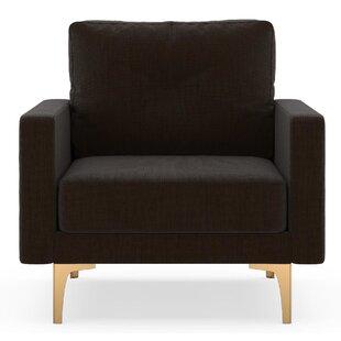 Brayden Studio Rusty Armchair