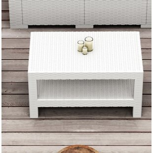 Find the perfect Vedder Rectangle Patio Coffee Table Best & Reviews