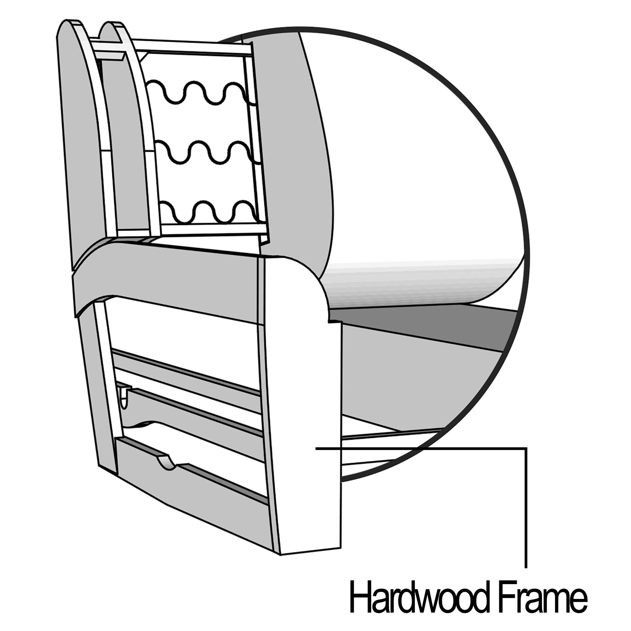 Sturdy Hardwood Frame
