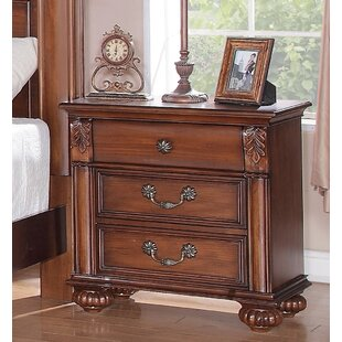 Buy luxury Leigh 3 Drawer Bachelor's Chest By Fleur De Lis Living
