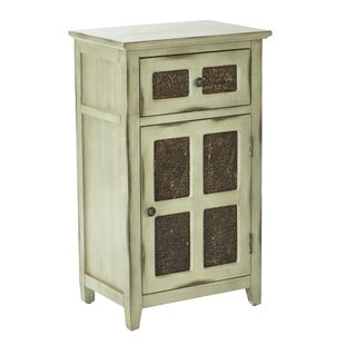 Marceau Storage 1 Door 1 Drawer Accent Cabinet by August Grove