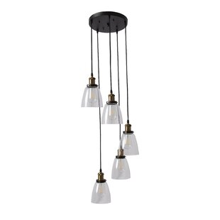 Gorgias 5-Light Cluster Pendant by Williston Forge