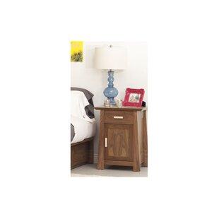 Hamilton 1 Drawer Nightstand by Urbangreen Furniture