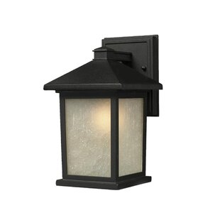 Winston Porter Savarese 1-Light Outdoor Wall Lantern