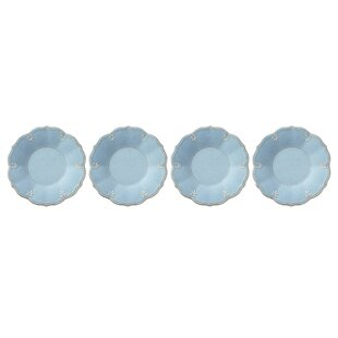 French Perle Melamine Dessert Plate (Set of 4)