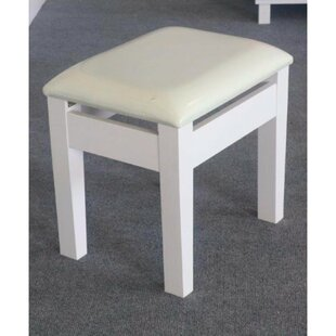Read Reviews Charlisa Comforting Dressing Vanity Stool By Red Barrel Studio