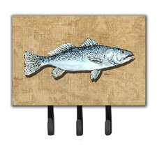 Speckled Trout Key Holder by Caroline's Treasures