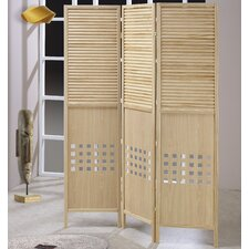 72 x 54 Wood 3 Panel Room Divider by Asia Direct Home Products