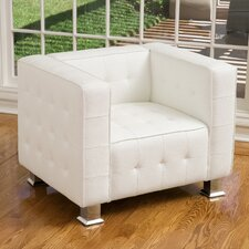 Zelie Tufted Armchair by Ivy Bronx