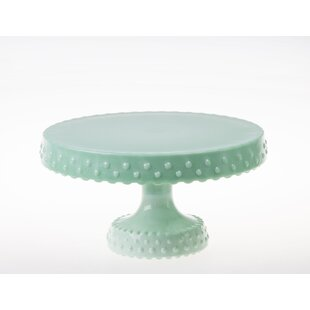 Perdue Milk Glass Hobnail Rimmed Cake Stand  sc 1 st  Wayfair & Milk Glass Hobnail Cake Stand   Wayfair
