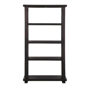 Merced 4 Tier Wooden Standard Bookcase