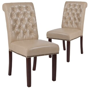 Fransen Upholstered Dining Chair (Set of 2) Charlton Home