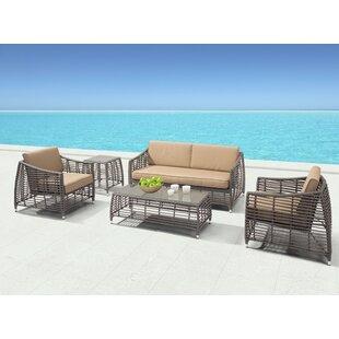 Brayden Studio Goldberg Deep Seating Group with Cushions