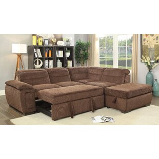 Top Reviews Gorski Sleeper Sectional with Ottoman by Ebern Designs Reviews (2019) & Buyer's Guide