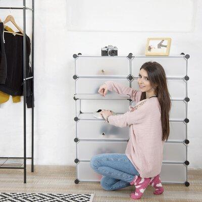 Schuhschrank für 24 Paar Schuhe | Flur & Diele > Schuhschränke und Kommoden > Schuhschränke | ClearAmbient