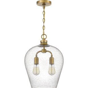 Wrought Studio Ruthann 2-Light Teardrop P..
