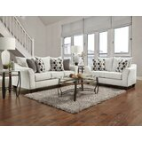 Wicham 2 Piece Configurable Living Room Set by Ebern Designs