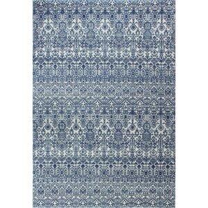 Fiora Ivory/Blue Area Rug