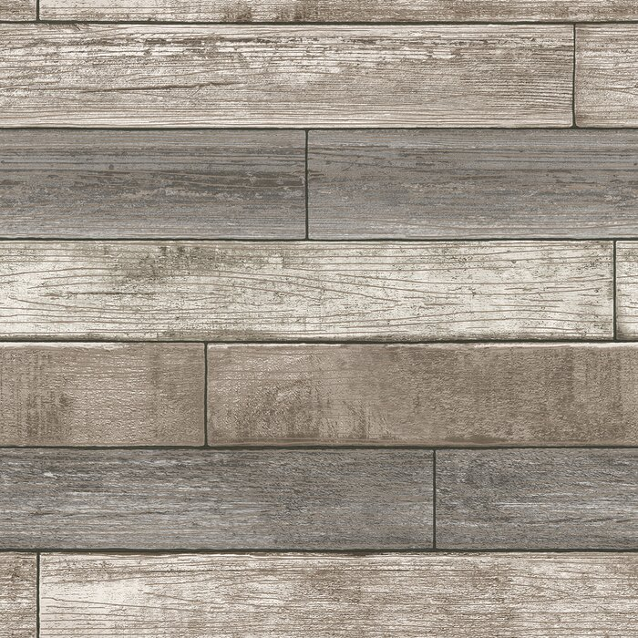 Nu 18 X 20 5 Reclaimed Wood Plank Wallpaper Roll