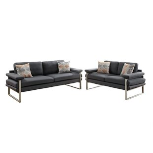 Bargain Kraker 2 Piece Living Room Set by Orren Ellis Reviews (2019) & Buyer's Guide