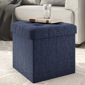 Great choice Zosia Tufted Foldable Storage Cube Ottoman by Zipcode Design