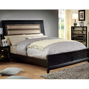Willisville Upholstered Panel Bed by House of Hampton Best Choices