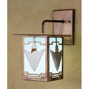 Buying 1-Light Outdoor Wall Lantern By Meyda Tiffany