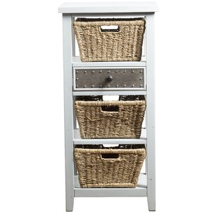 Sceinnker Accent Cabinet with 3 Baskets by Gracie Oaks