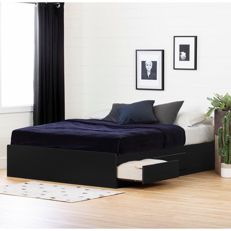 Andover Mills Lathrop Queen Storage Platform Bed Reviews Wayfair