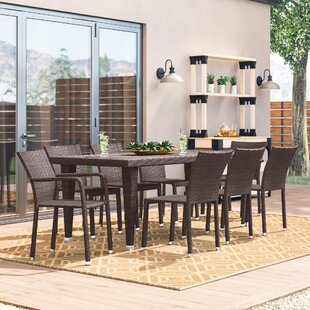 Blakely 9 Piece Dining Set by Sol 72 Outd..