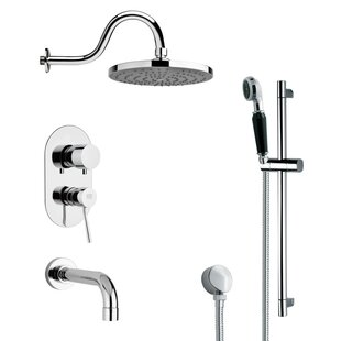 Galiano Pressure Balance Tub and Shower Faucet ByRemer by Nameek's