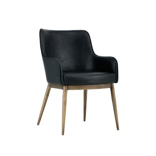 Irongate Franklin Upholstered Dining Chair by Sunpan Modern