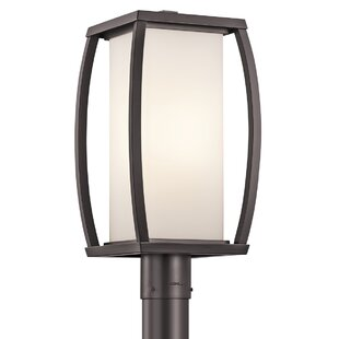 Reviews Roumfort Outdoor 1-Light Lantern Head By Winston Porter
