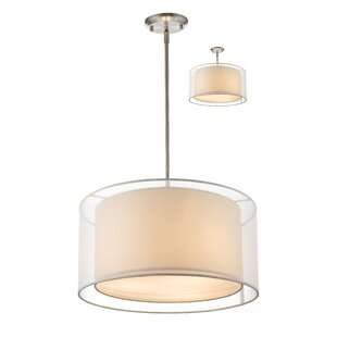 Wrought Studio Fleckenstein 3-Light Pendant