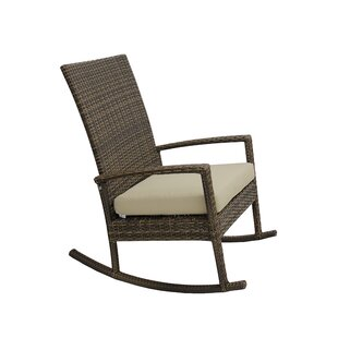 Chico Rocking Chair with Cushions by Highland Dunes