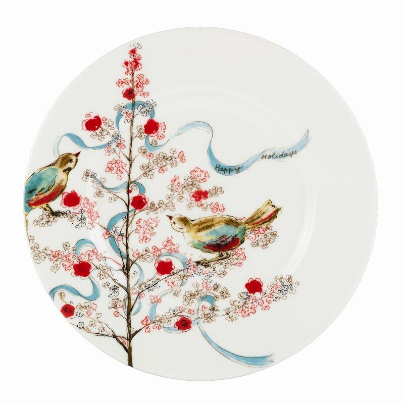 Chirp 9\  Seasonal Salad / Luncheon Plate  sc 1 st  Wayfair & Lenox Chirp 9\
