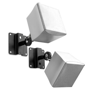 Compare & Buy Adjustable Satellite Universal Wall/Ceiling Speaker Mount (Set of 2) By Mount-it