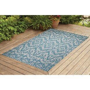 Starnes Turquoise Indoor/Outdoor Area Rug