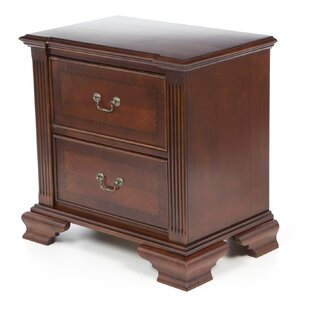 Aledo 2 Drawer Nightstand by Astoria Grand