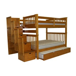 Andrea Full Over Full Bunk Bed With Trundle