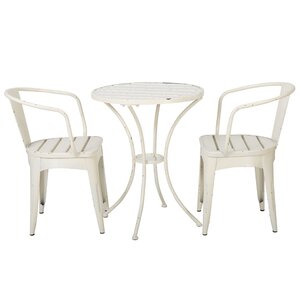 Forrester Indoor 3 Piece Dining Set by Andover Mills