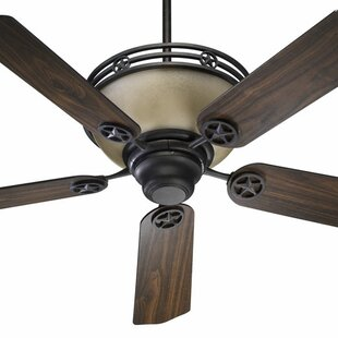 Read Reviews 52 Lone Star 5-Blade Ceiling Fan with Remote By Quorum